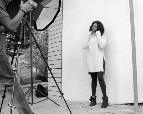 Fotoshooting mit Petra Adebayo in München