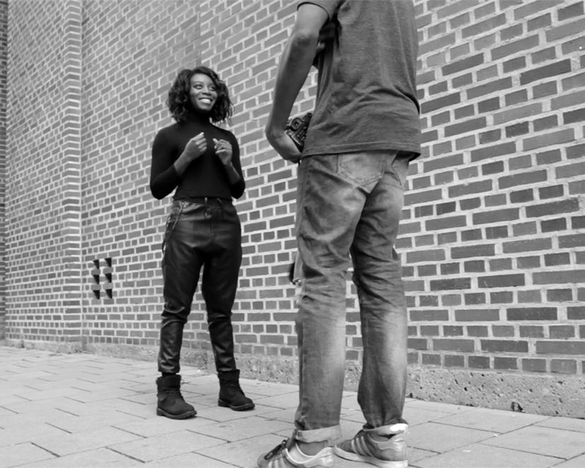 Portrait Sedcard Shooting in München Petra Adebayo