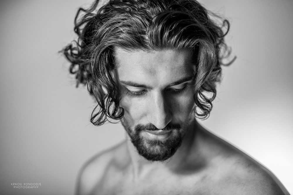 Abassin Mumad bei Model Fotograf München